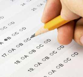 Ein großer Teil der IHK-Prüfung besteht aus Single-Choice Fragen zum Ankreuzen.